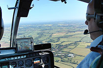 Father's Day - Helicopter Thrill with Fizz for Two