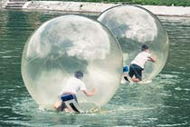 Winter Water Zorbing Experience for Four