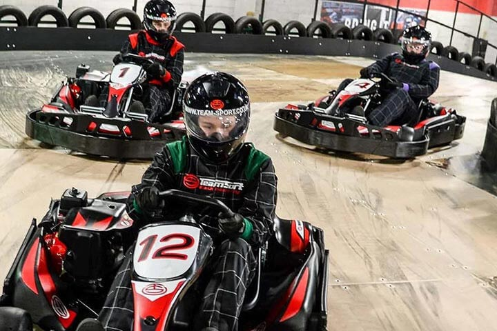 50 Lap Karting Race for Four