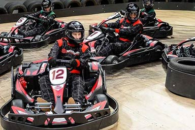 Click to view details and reviews for 50 Lap Karting Race For Four.