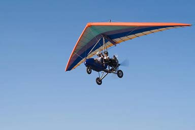 40 to 45 Minute Microlight Flight Thumb