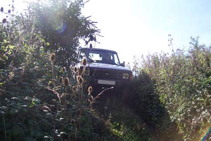 Junior 4X4 Off Road Driving Experience