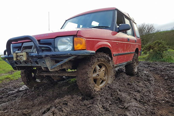 Junior 4x4 Off Road Driving Adventure