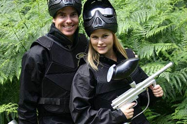 Paintballing for Four Thumb
