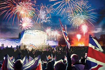 image of Outdoor Proms Concert for Two