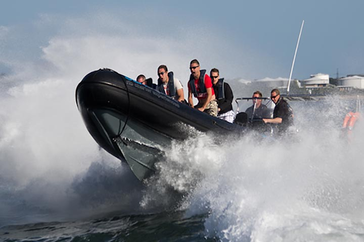 RIB Powerboat Thrill for Two