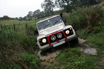 One-to-One Off Roading Session