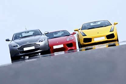 triple supercar drive