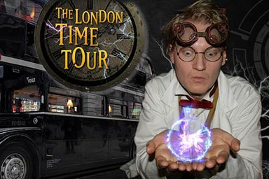 The London Time Tour Bus and Guide Book for Two