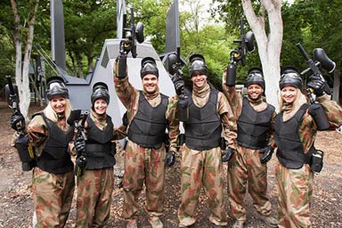 Paintball Combat For Eight