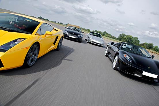 Triple Supercar Driving Experience at Dunsfold Aerodrome, Surrey