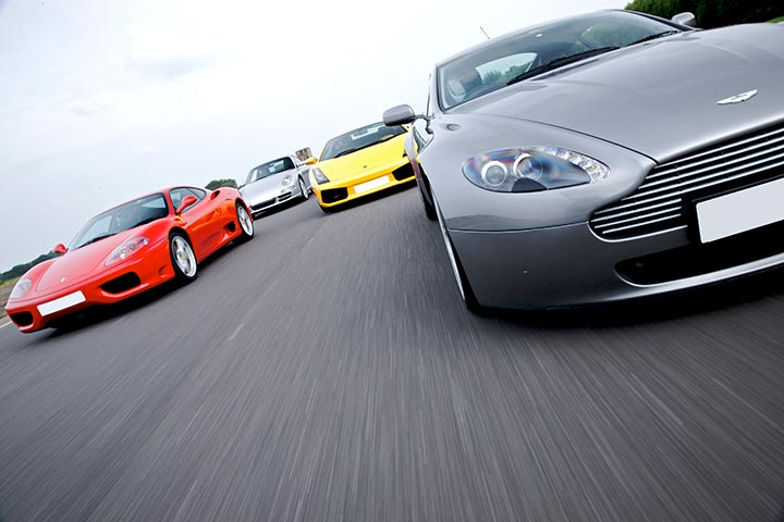 Triple Supercar Driving Choice at Lydden Hill Circuit, Kent