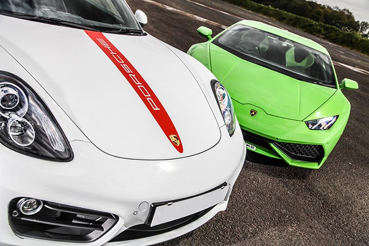Triple Supercar Driving Choice at Tockwith Motor Sports Centre, Yorkshire