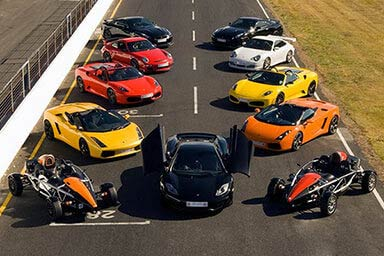 Triple Supercar Driving Experience Thumb