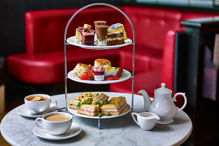 The View from the Shard with Afternoon Tea for Two