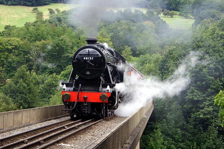 Steam Train Experience for Two