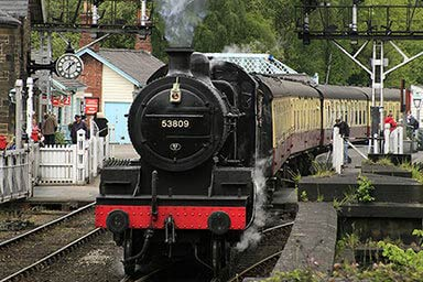 Steam Train Experience for Two Thumb