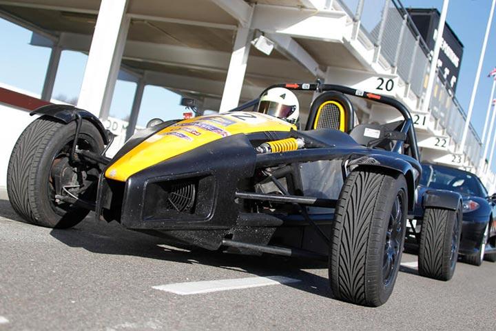 Ariel Atom Thrill with High Speed Passenger Ride