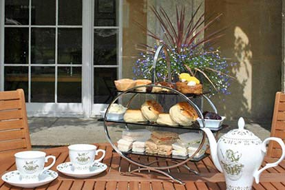 Traditional Afternoon Tea for Two at Chiseldon House Hotel