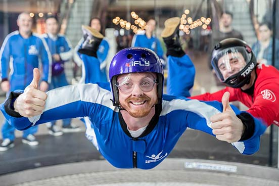 Indoor Skydiving for One with iFly