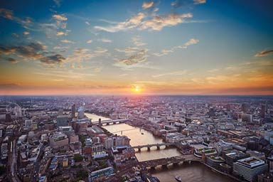 View from The Shard with a Three Course Meal & Wine for Two at Café Rouge Thumb