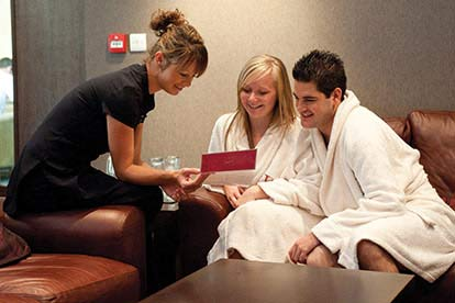 Valentines Spa Day for Two with Three Treatments