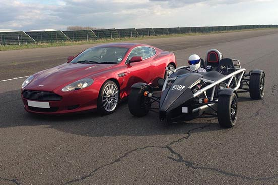 Aston Martin Drive & Ariel Atom Ride