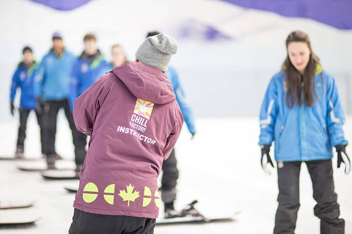 Skiing or Snowboarding Lessons for Two