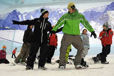 Skiing or Snowboarding Lessons Thumb