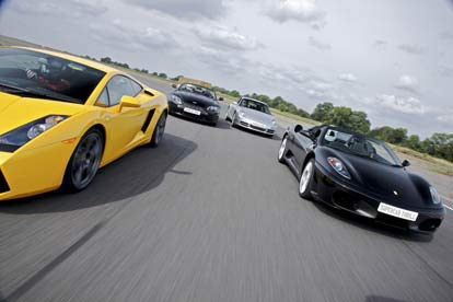 Triple Supercar Drive