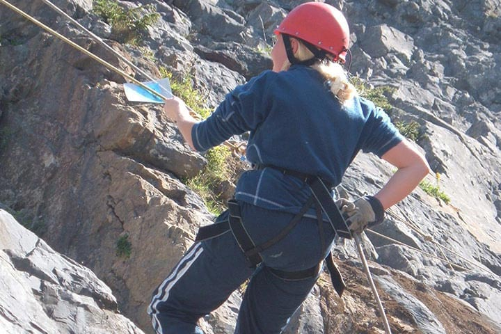 Abseiling for Two