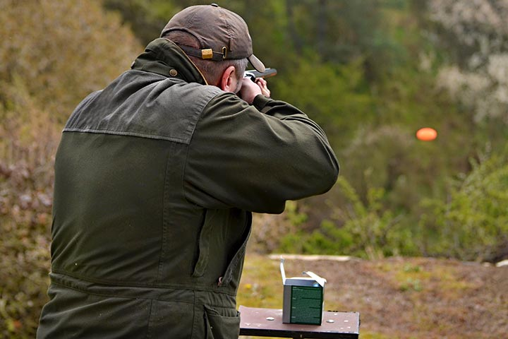 Clay Pigeon Shooting with Seasonal Refreshments