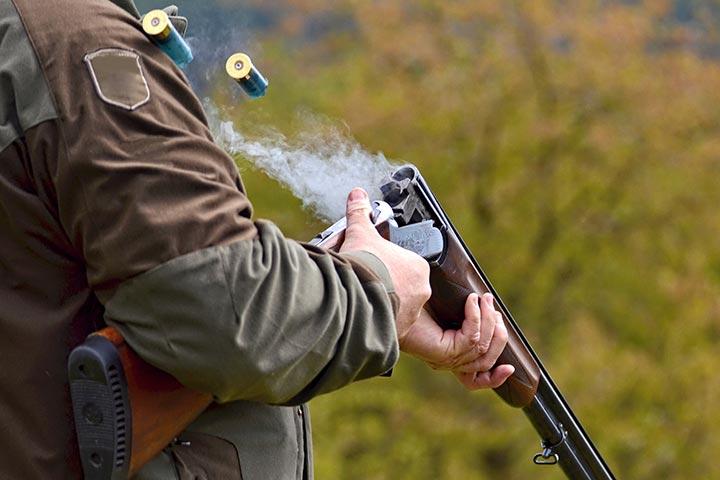 Clay Pigeon Shooting with Seasonal Refreshments