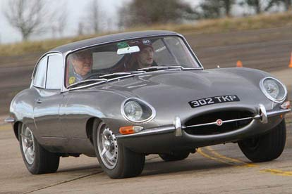 Jaguar E Type Thrill