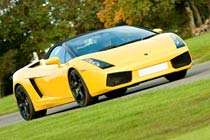 Lamborghini Gallardo LP570 Super Trofeo Race Car Experience