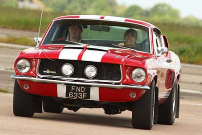 Mustang Driving Thrill