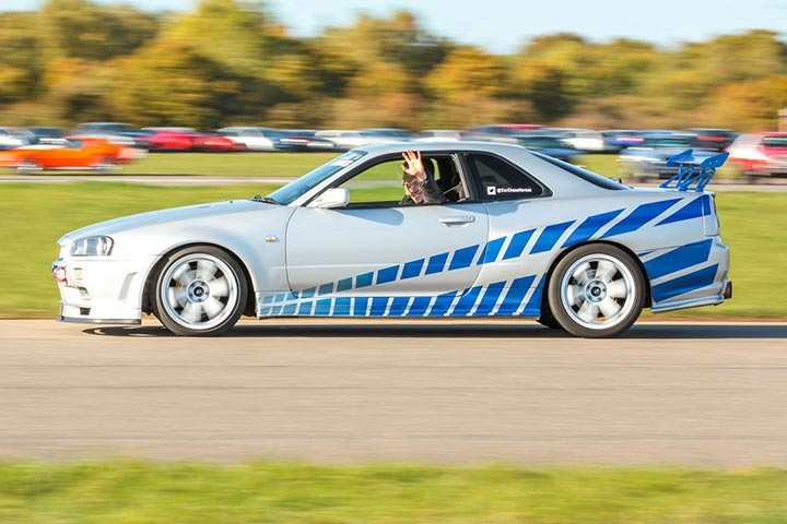 Thunderous Camaro SS & R34 Skyline Double Blast
