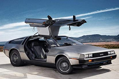 Delorean Driving Experience