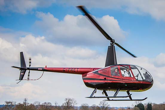 Helicopter Experience with Non-Alcoholic Bubbly and Chocolates for Two