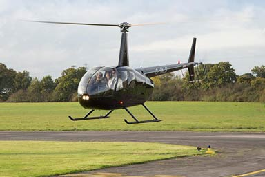 Helicopter Flight with Non-Alcoholic Bubbly and Chocolates for 2 Thumb