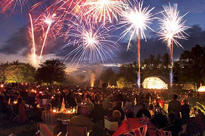 image of Outdoor Proms Concert for Two with a Bottle of Bubbly
