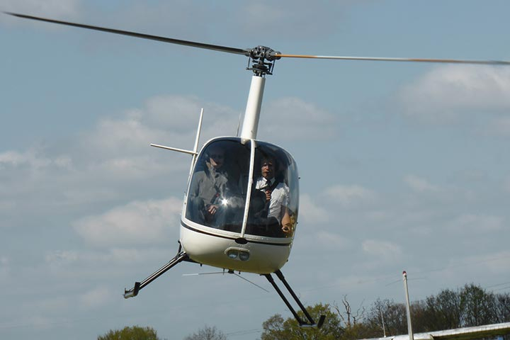 One-to-One Helicopter Flying Lesson
