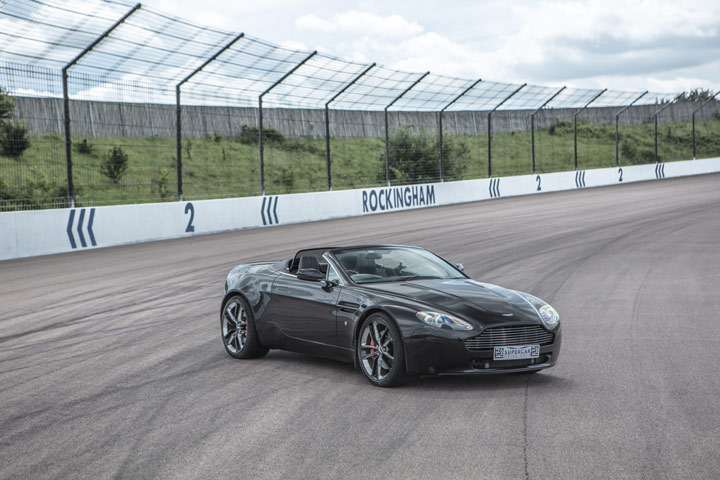 image of Aston Martin Passenger Ride