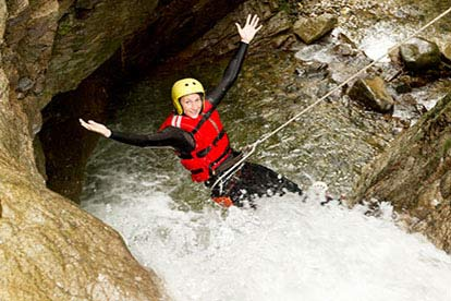 Coasteering or Gorge Walking Experience