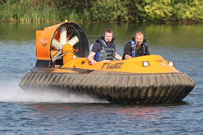 Solo Hovercraft Experience