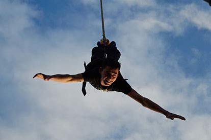 300ft Bungee jump