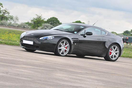 Aston Martin Driving Experience at Mallory Park, Leicestershire