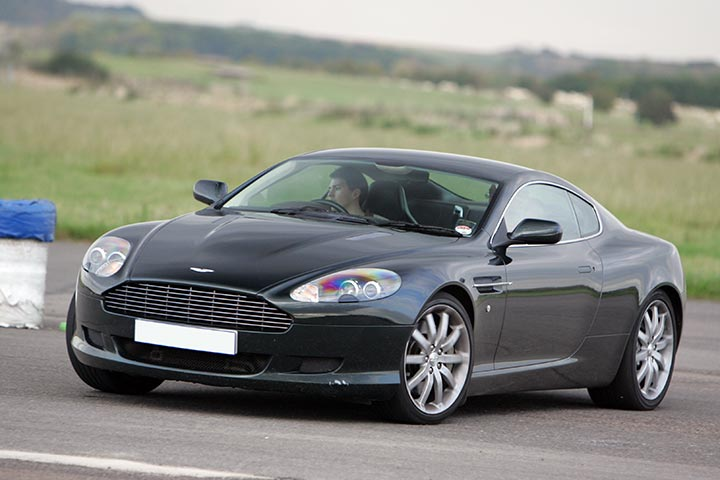 Aston Martin Driving Experience at Prestwold Driving Centre, Leicestershire