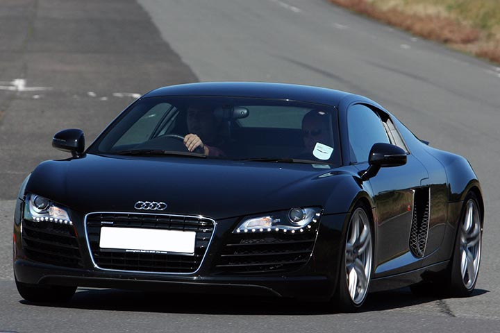 Audi R8 Driving Experience at Blyton Park, Midlands, Lincolnshire