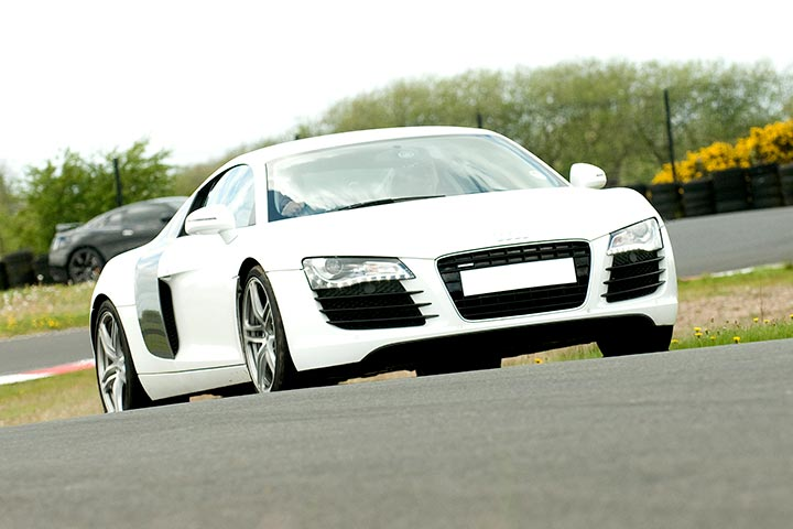 Audi R8 Driving Experience at Carver Barracks Circuit, Essex
